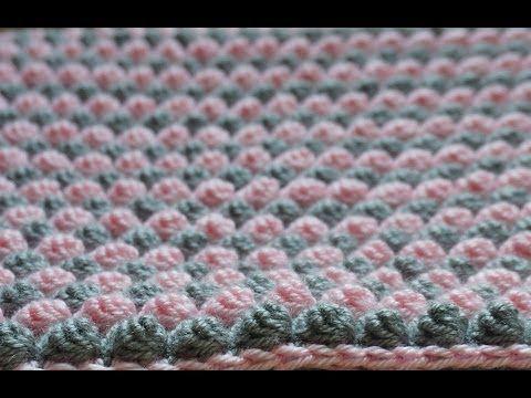Easy Crochet Catherine Wheel Starburst Stitch Blanket Tutorial