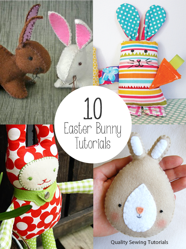 10 Easter Bunny Tutorials - free sewing instructions and patterns ...