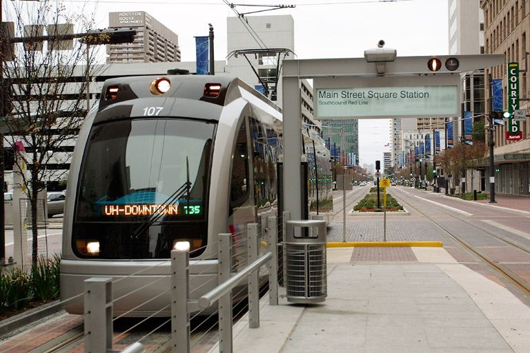 Image result for houston light rail