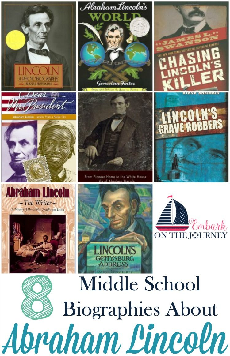 Abraham Lincoln Biographies For Middle School Abraham Lincoln Biography Lincoln Biography Homeschool History [ 1163 x 750 Pixel ]