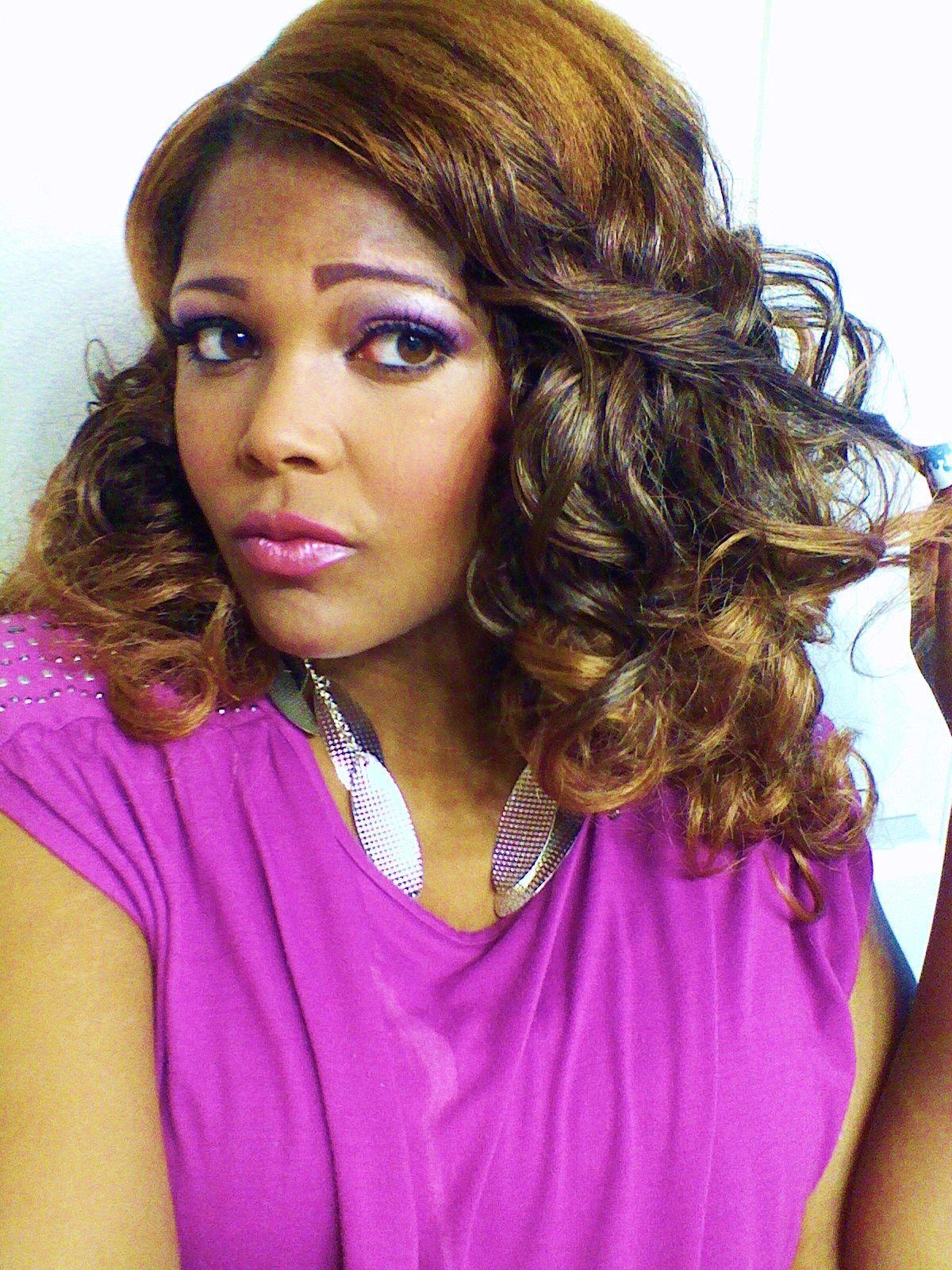 Kandi Burruss Hype Hair Magazine 2013 Look Using Clip In Hair
