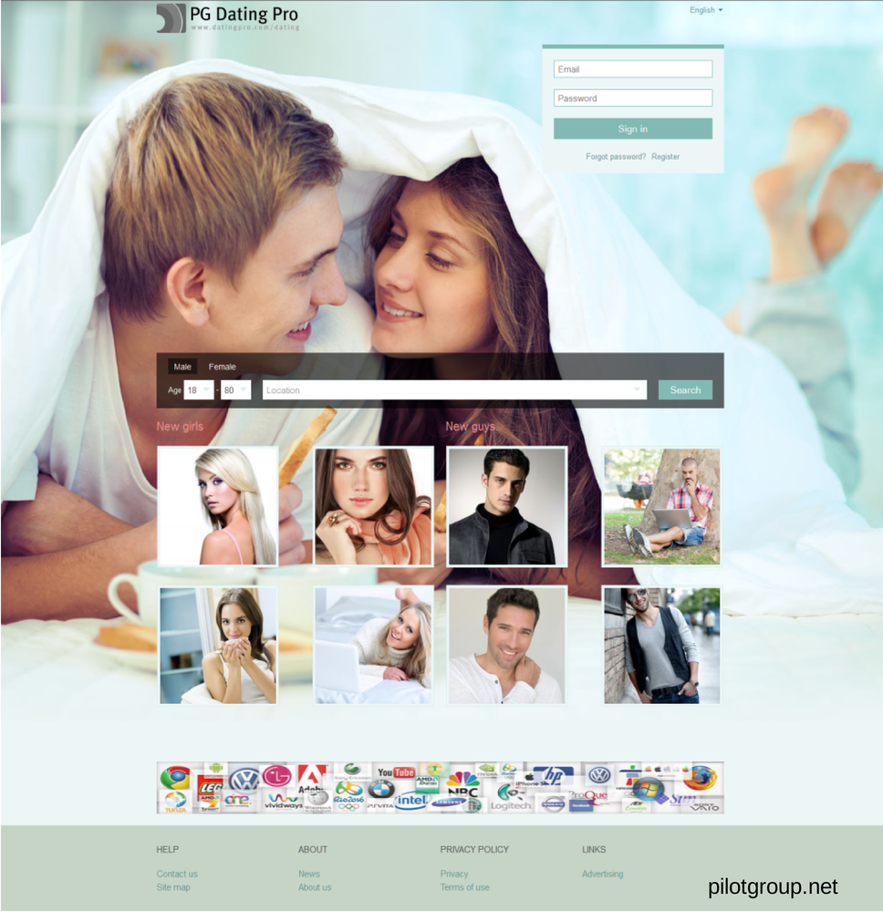 Professional online dating