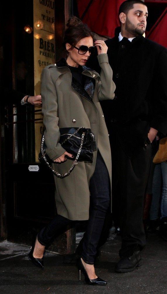 Victoria Beckham - Victoria Beckham Leaves Balthazar in NYC