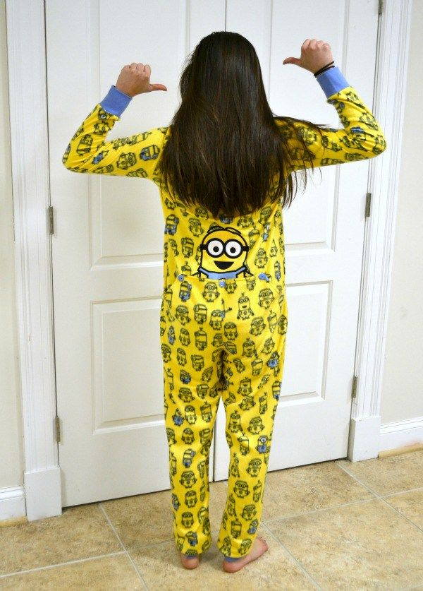 0b12d428ce6f My teen daughter was unexpectedly delighted with these Drop Seat One Piece  Minions Pajamas from  richardleedsint. Best surprise teen gift ever.