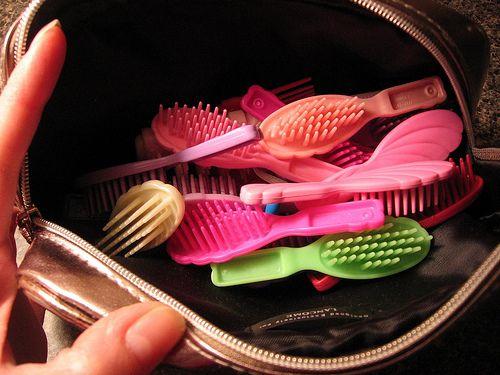 Los cepillos de barbie