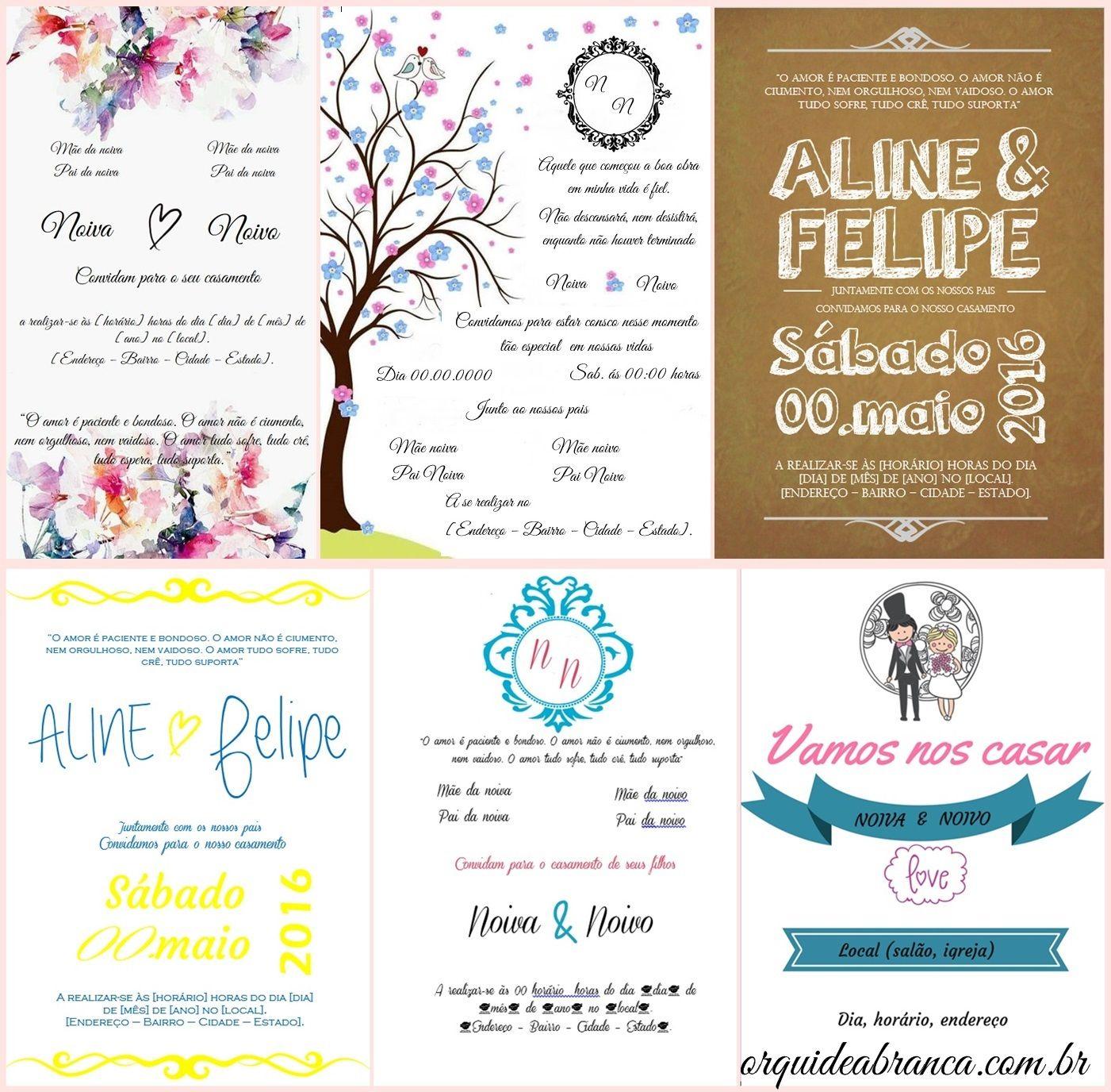 So 13 modelos de convites de casamento editveis diferentes todos invitations lyrics so 13 modelos de convites de casamento editveis diferentes todos feitos por mim e stopboris Image collections