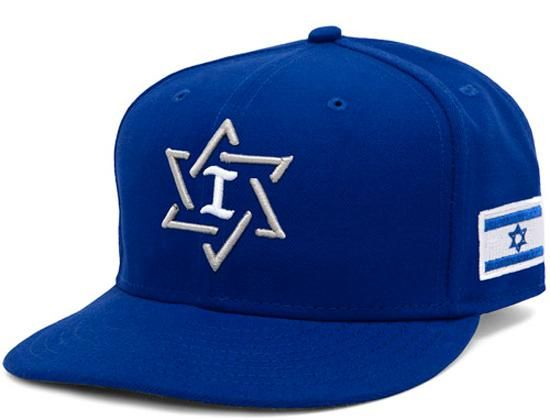 bcb9fe3de47 Israel National Team 59Fifty Fitted Baseball Cap by NEW ERA x WBC ...
