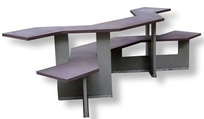 Picnic Table Modern By Design, This Attractive Picnic Table Seems To  Encourage Singles And Small Part 53