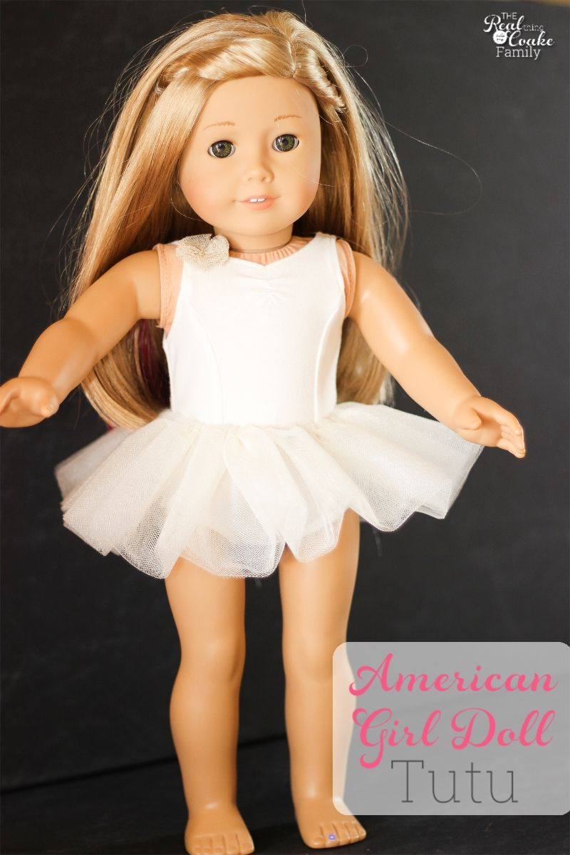American Girl Doll Clothes Patterns to Make Isabelle\'s Tutu