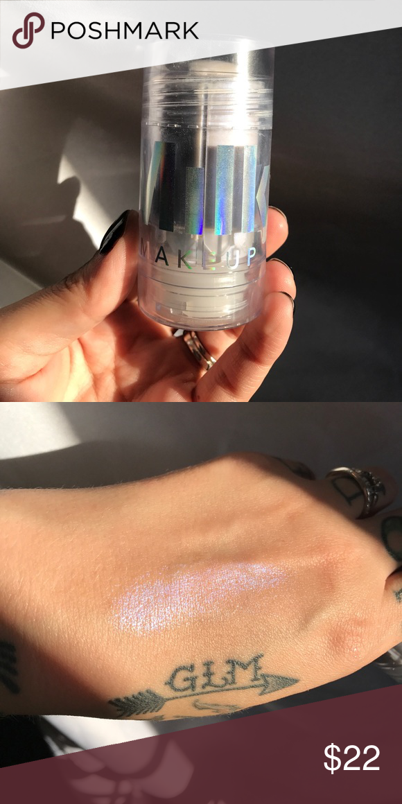Milk makeup holographic stick Used with fingers a couple