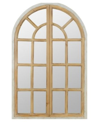 Aspire Home Accents Athena Farmhouse Arch Wall Mirror Reviews All Mirrors Home Decor Macy S Arch Mirror Mirror Transitional Mirrors