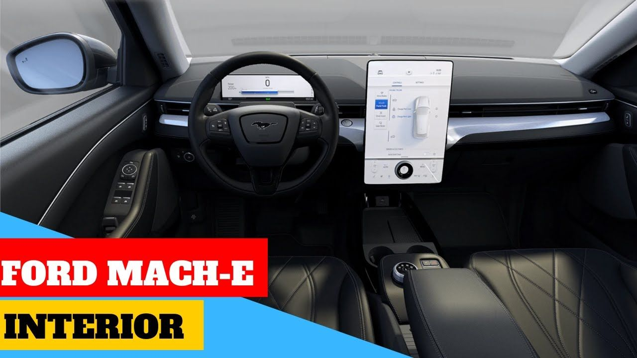 Giant 15 5 Screen New 2020 Ford Mustang Mach E Electric Suv