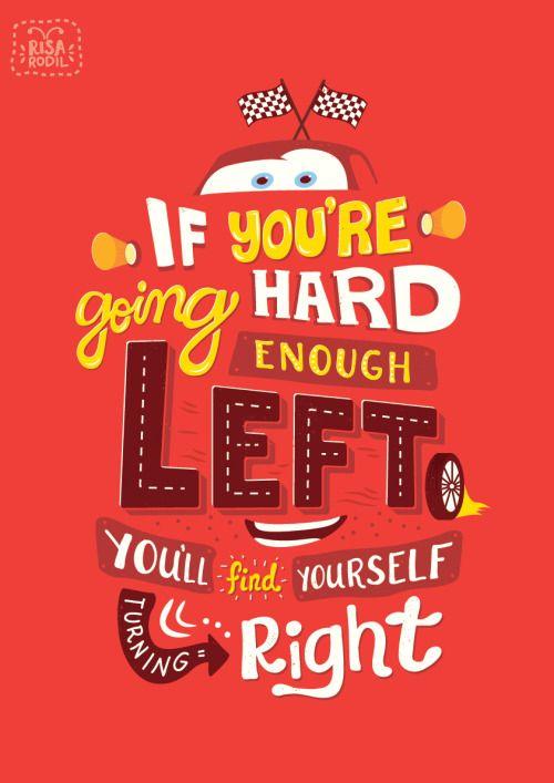 pixar quote posters 8 10 cars disney pinterest