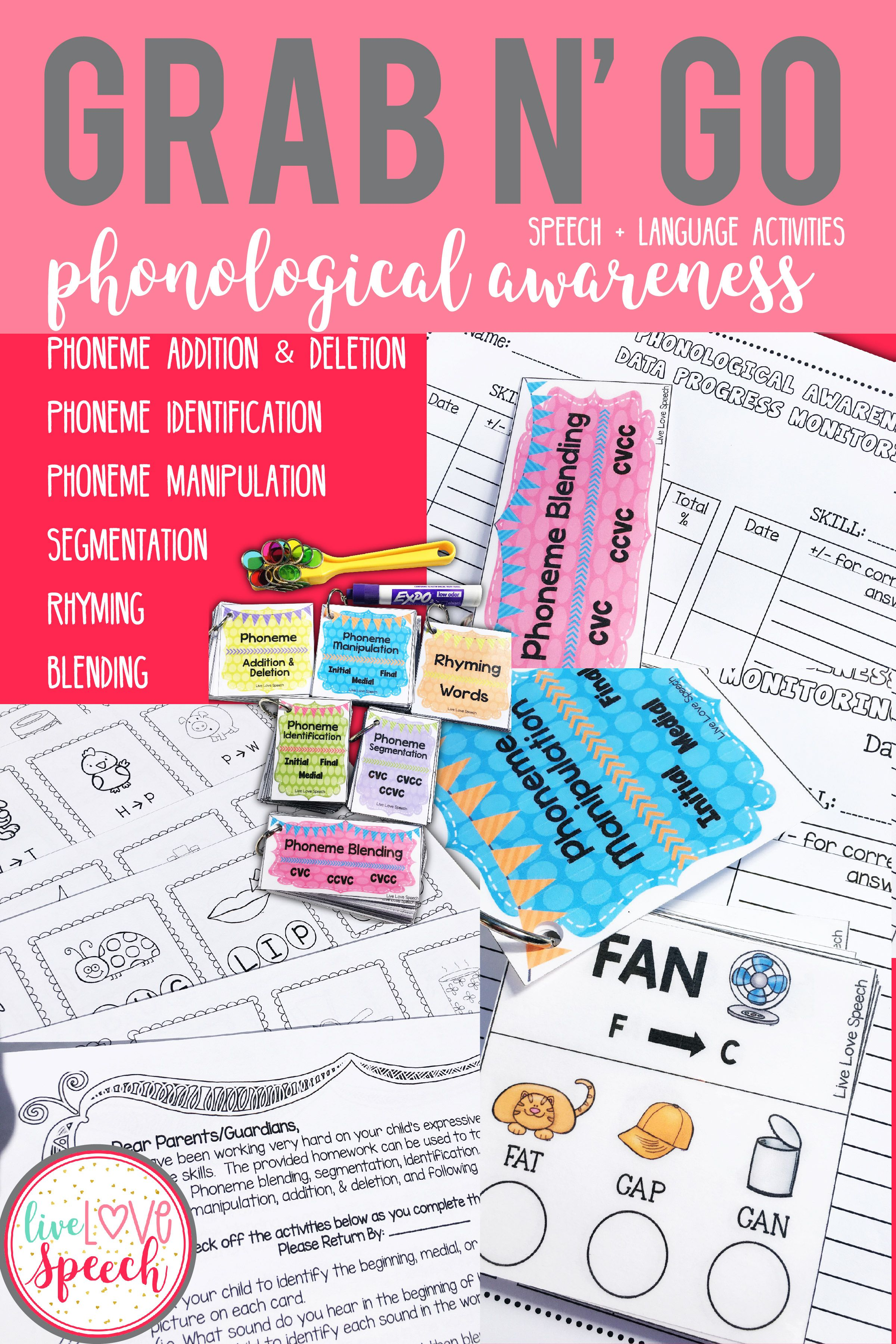 Grab N Go Phonological Awareness