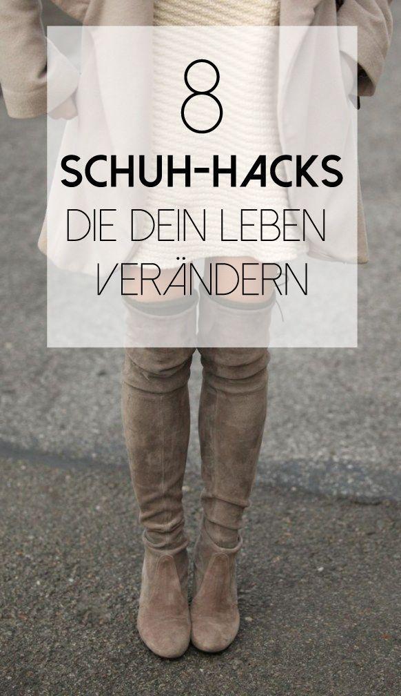 8 geniale Schuh Hacks, die dein Leben erleichtern werden