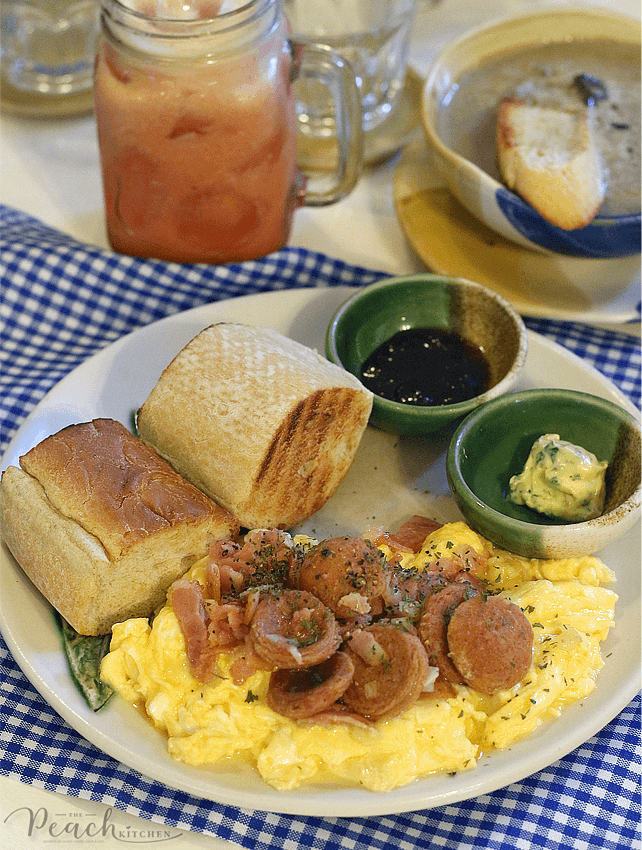 Rustic Mornings By Isabelo In Marikina The Peach Kitchen Peach Kitchen Restaurant Recipes Food