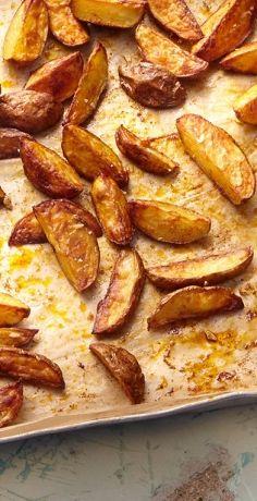 Kartoffel Wedges mit Sour Cream #kartoffeleckenbackofen