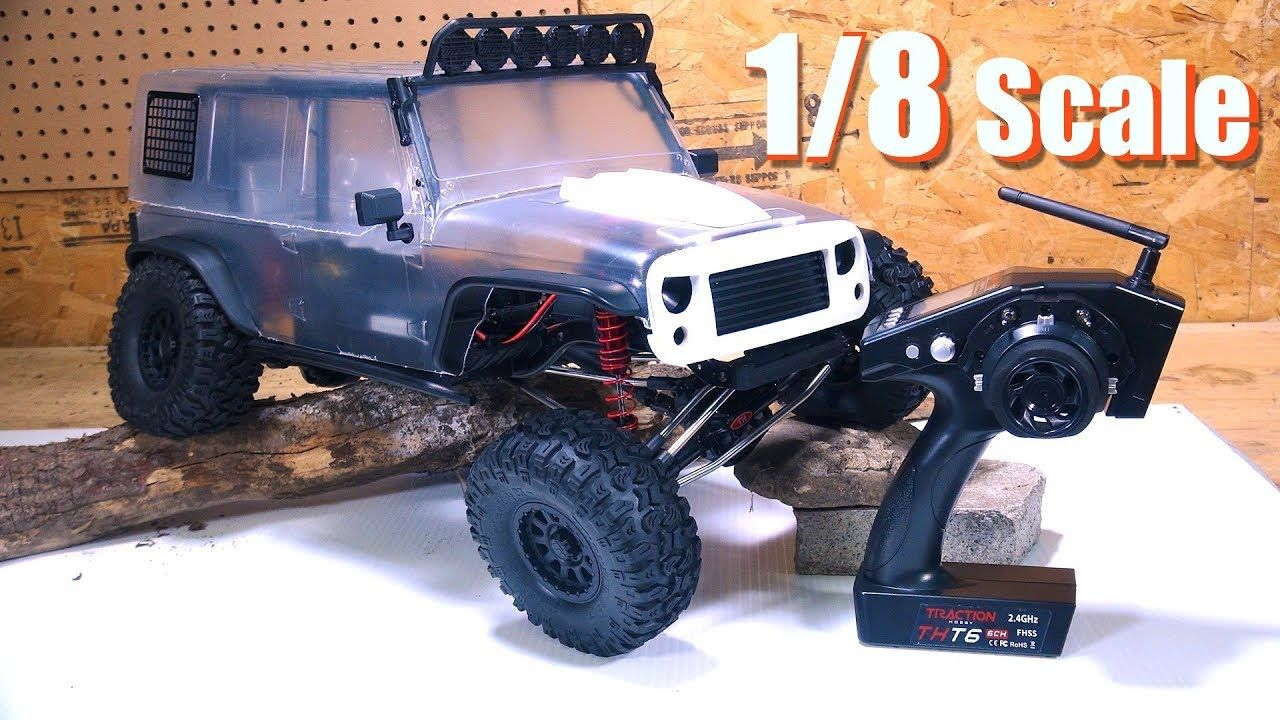 Rc Adventures Redefine Trail Crawling Unboxing A 1 8th Scale Cragsma Monster Trucks Rc Crawler 4x4