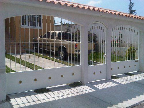Portones de herreria portones de herreria portones puertas herreria puertas y casas - Puertas disenos modernos ...
