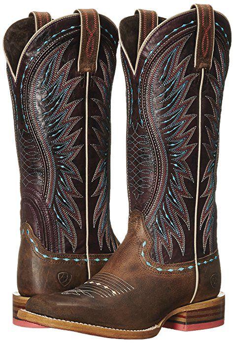 39ee32468ca Amazon.com | Ariat Women's Vaquera Western Cowboy Boot | Knee-High ...