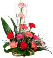 Shopping Online Carnation Basket For Bangalore Fast Home Delivery Visit Our Site Www Ban Online Flower Shop Flower Delivery Father S Day Flowers