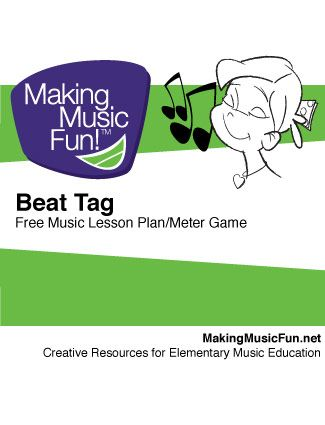 Beat Tag | Music Game - Students play a game to help them begin to hear and understand meter/time signature. Tag in the music classroom... so cool!