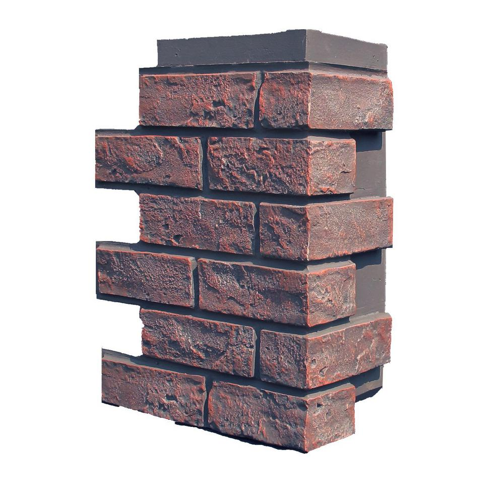 Nextstone Brick Antique Red 15 25 In X 12 In Polyurethane Faux