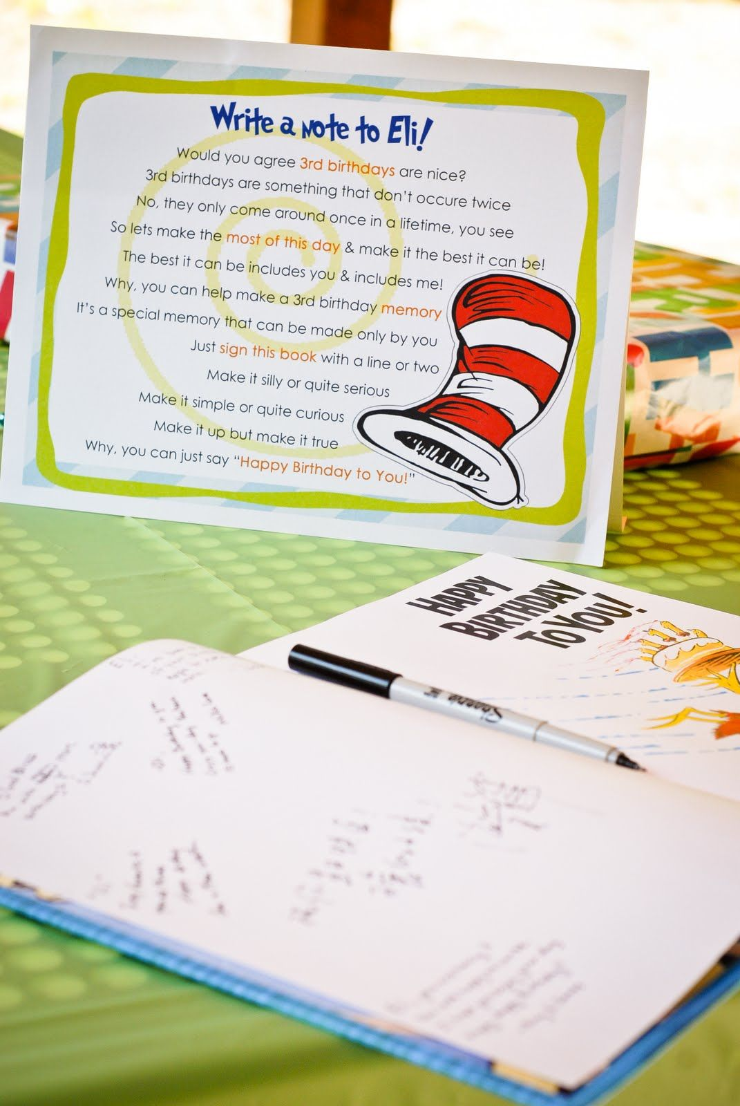 Fashionable Guests Write A Happy Birthday Scrapbooks Happy Birthday Ny Books Get Dr Seuss Happy Birthday Book Guests Write A Message Inside Get Dr Seuss Happy Birthday Book