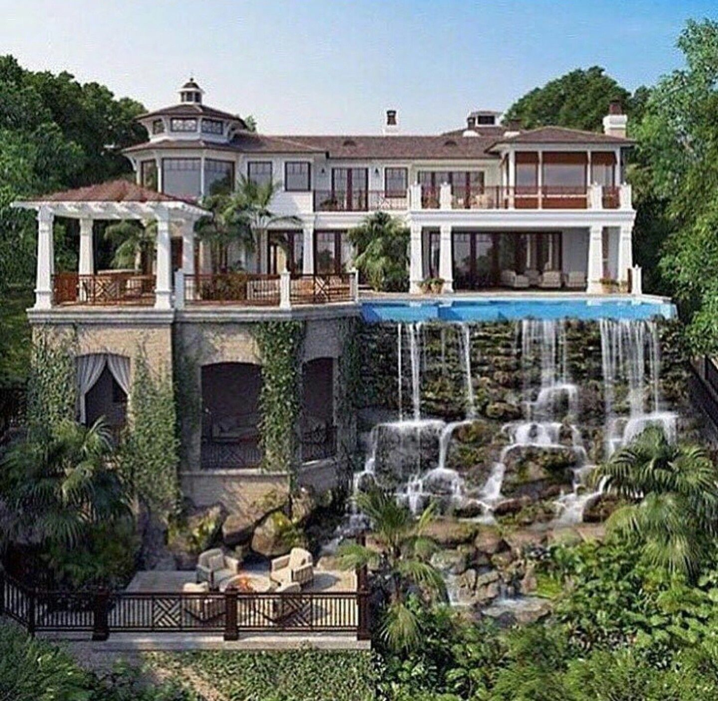Gorgeous Mega Mansions | maisons de luxe | House, Dream mansion et ...