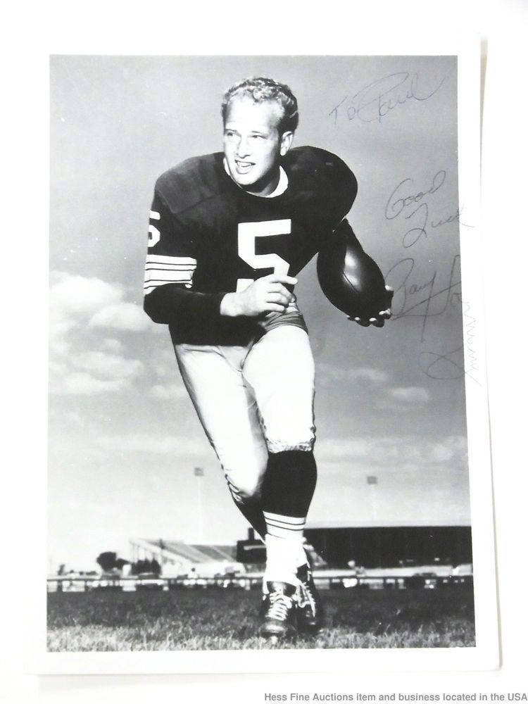 PAUL HORNUNG GREEN BAY PACKERS 8X10 SPORTS ACTION PHOTO J