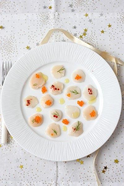 Carpaccio de Saint-Jacques | Recette | Recettes de cuisine ...