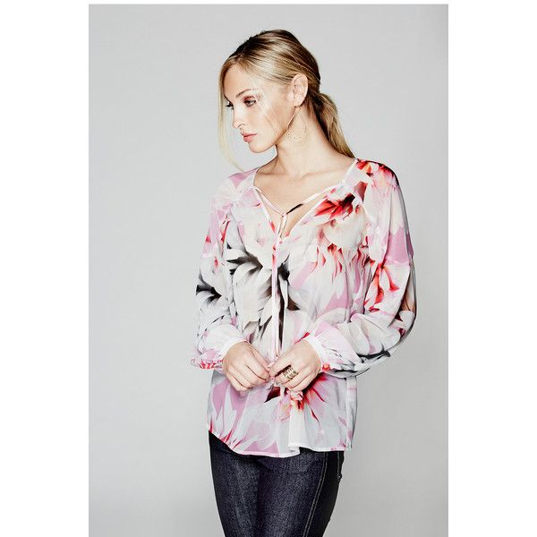 Guess By Marciano Free Floral Blouse 3 855 Rub Liked On