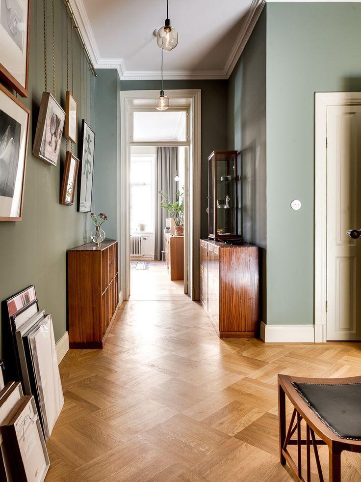 Norrtullsgatan 22 – Sanna Fischer – Metro Mode #hallwaydecorations parquet floor…