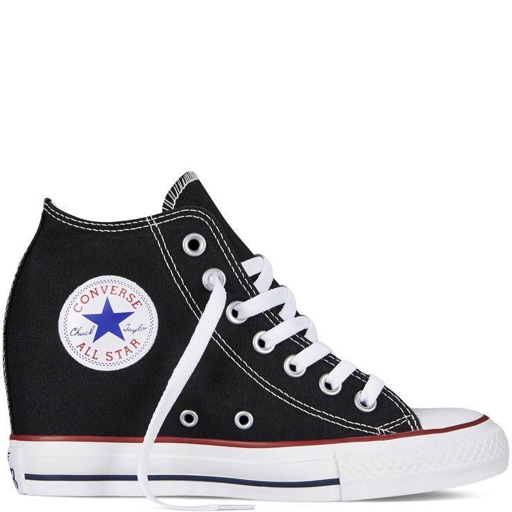 Converse Chuck Taylor All Star Lux Hidden Keil Leinwand