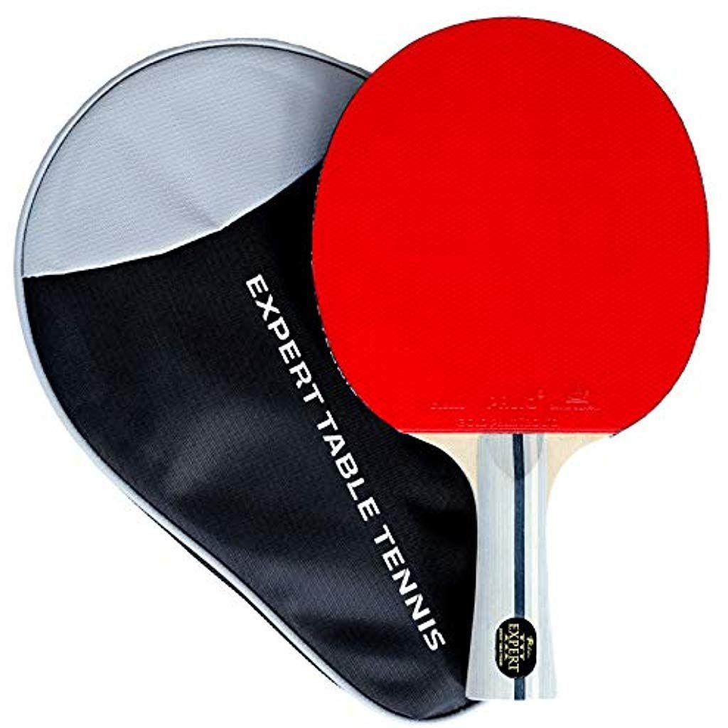 Palio Expert 3 0 Raquette De Tennis De Table Avec Etui Homologue Ittf Evasee Pour Debutants Tennis De Table Raquette De Tennis Sport Et Loisir