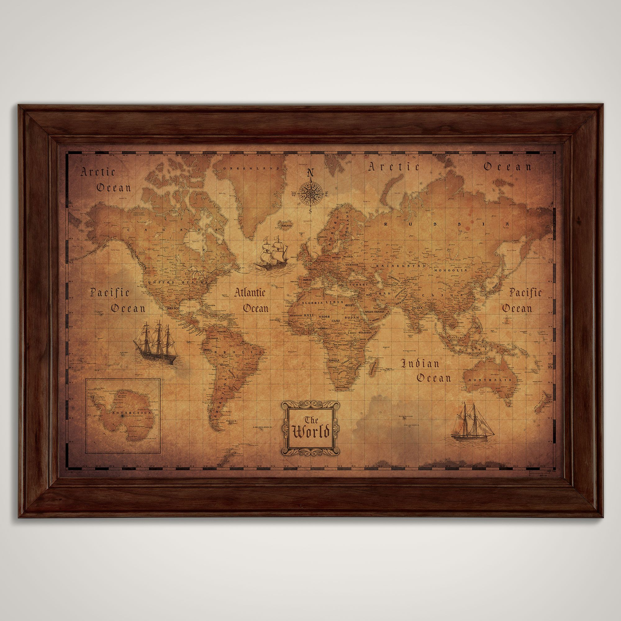 World map poster golden aged golden age and products world map poster golden aged gumiabroncs Image collections