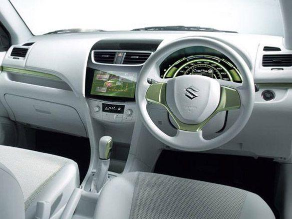 Suzuki Swift EV Hybrid interior Concept | Suzuki Swift | Suzuki