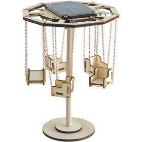 Bouwpakket draaimolen op zonne-energie Solexpert educatief speelgoed