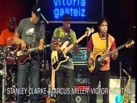 Stanley Clarke, Marcus Miller & Victor Wooten (SMV) -  Maestros de las B...