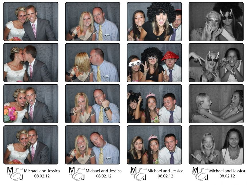 Jessica And Michael Wedding Photo Booth Wedding Photo Booth Photo Booth Photo Booth Rental