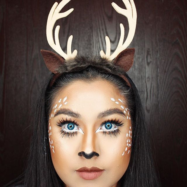 20 pretty and easy halloween makeup ideas stylecaster