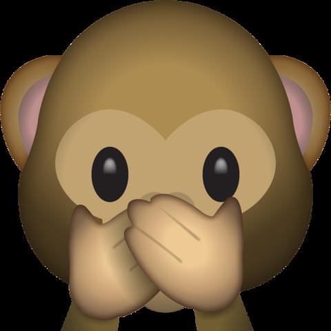 Speak No Evil Monkey Emoji Emoji Pictures Monkey Emoji Emoji Images