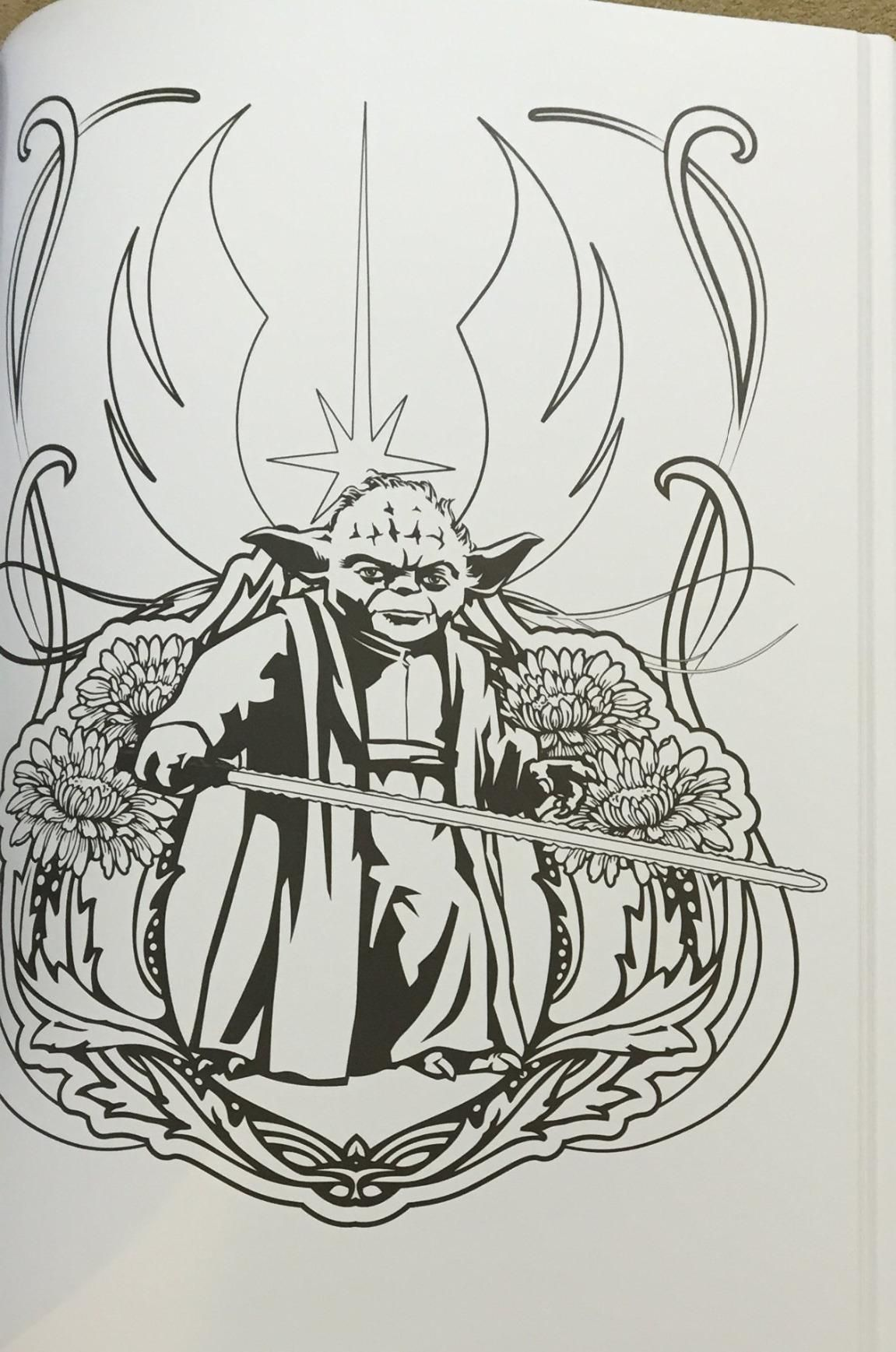 Art Of Coloring Star Wars 100 Images To Inspire Creativity And Relaxation Therapy