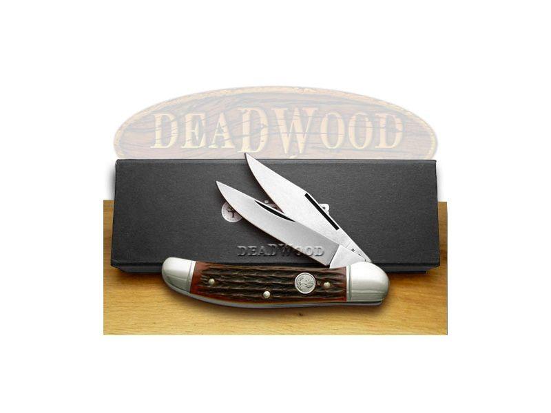 German BOKER TREE BRAND Copperhead-Jigged Red Bone Pocket Knife - BO2626JRBI | 2626JRBI - 788857016237
