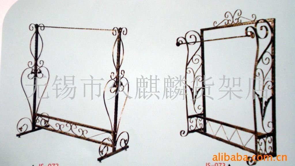 Supply Wrought Iron Clothes Rack Wuxi Gantry Clothing Figure