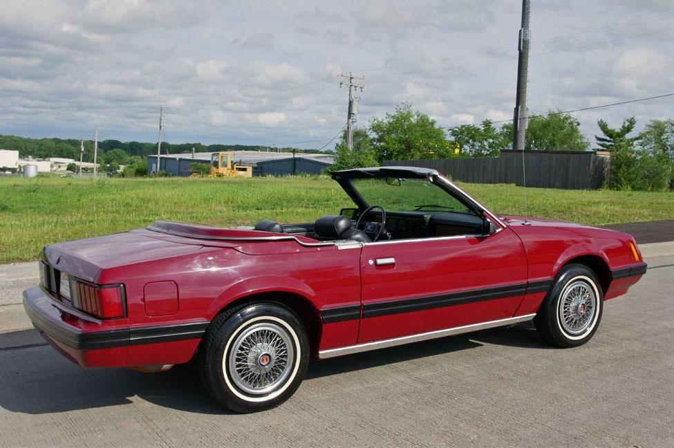 1981 Ford Mustang Ghia Intermeccanica Convertible