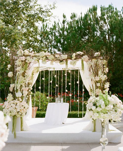 Easy Diy Wedding Arch Ideas: Diy Arch. A Square Arch.