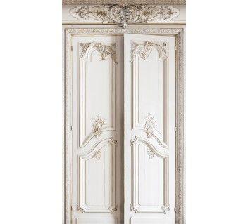 Doubles portes boiseries haussmanniennes living room - Portes haussmanniennes ...