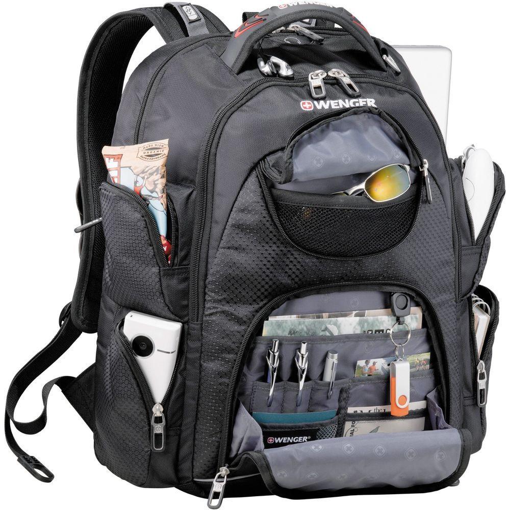 New Wenger Scan Smart Trek 17 Laptop Backpack Tsa Friendly Swissgear Bag