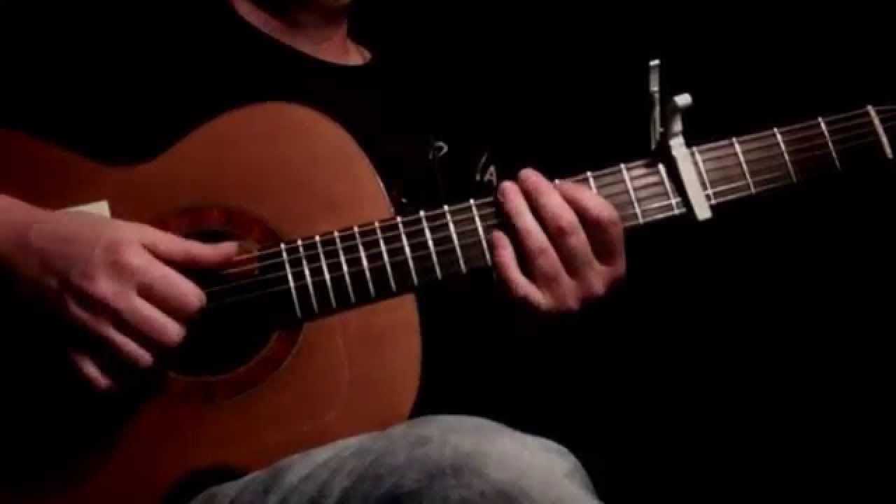Mark Ronson Uptown Funk Ft Bruno Mars Fingerstyle Guitar